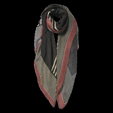 Sjaal 85*180 cm Grijs | JZSC0589G | Clayre & Eef