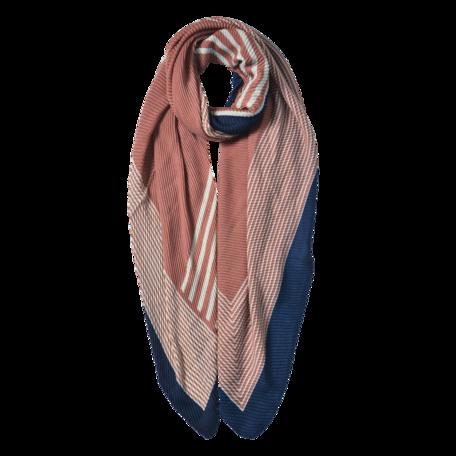 Sjaal 85*180 cm Roze | JZSC0589P | Clayre & Eef