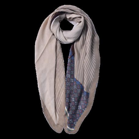 Sjaal 85*180 cm Beige | JZSC0590BE | Clayre & Eef