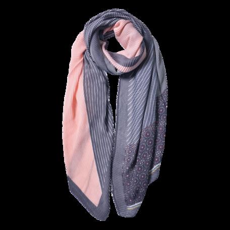 Sjaal 85*180 cm Grijs | JZSC0590G | Clayre & Eef
