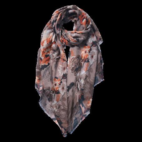 Sjaal 85*180 cm Beige | JZSC0591BE | Clayre & Eef