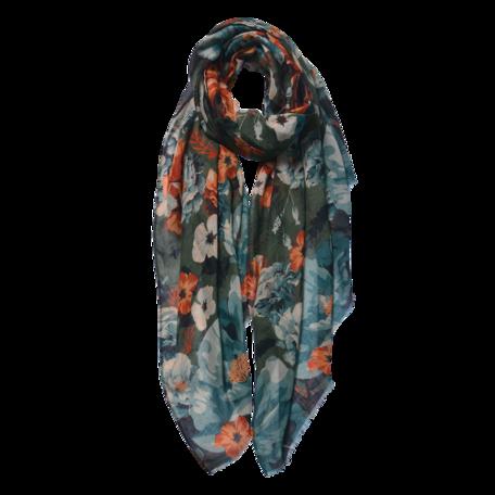 Sjaal 85*180 cm Groen | JZSC0591GR | Clayre & Eef