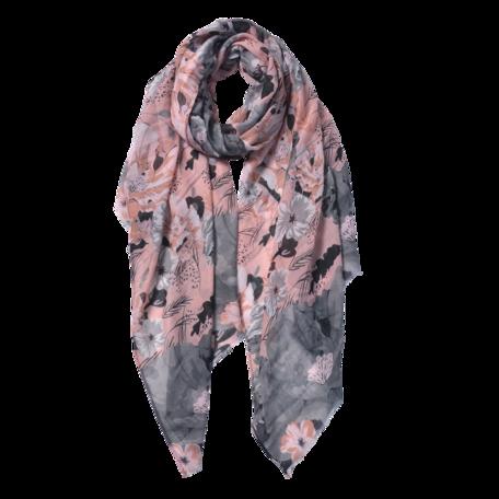 Sjaal 85*180 cm Roze | JZSC0591P | Clayre & Eef