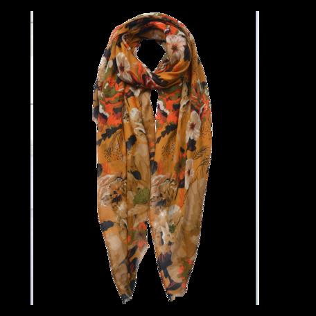 Sjaal 85*180 cm Geel | JZSC0591Y | Clayre & Eef