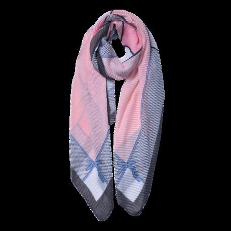 Sjaal 85*180 cm Roze | JZSC0595G | Clayre & Eef