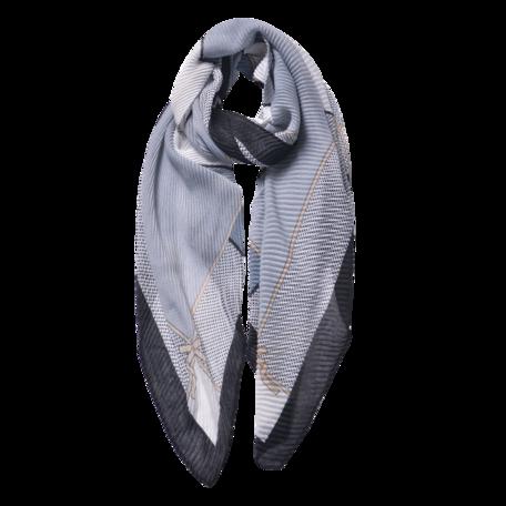 Sjaal 85*180 cm Zwart | JZSC0595Z | Clayre & Eef
