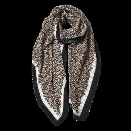 Sjaal 85*180 cm Zwart | JZSC0596G | Clayre & Eef