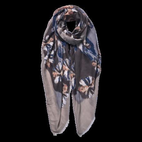 Sjaal 85*180 cm Bruin | JZSC0597BE | Clayre & Eef