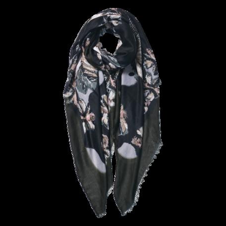 Sjaal 85*180 cm Groen | JZSC0597GR | Clayre & Eef