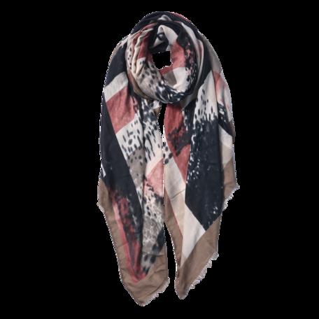 Sjaal 85*180 cm Beige | JZSC0598BE | Clayre & Eef