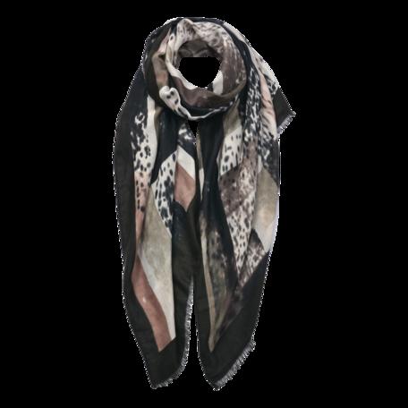 Sjaal 85*180 cm Groen | JZSC0598GR | Clayre & Eef