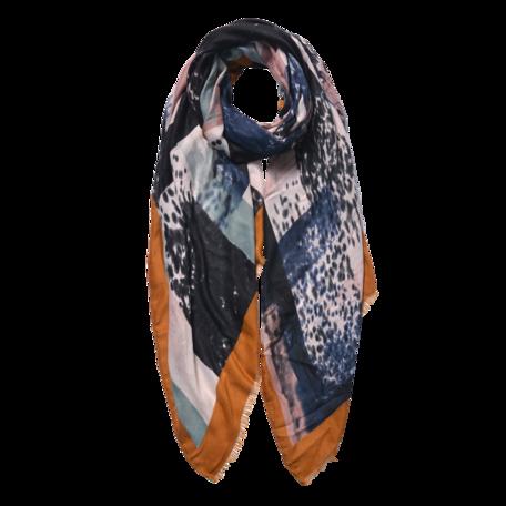 Sjaal 85*180 cm Geel | JZSC0598Y | Clayre & Eef
