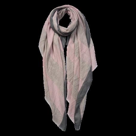 Sjaal 85*180 cm Grijs | JZSC0600G | Clayre & Eef