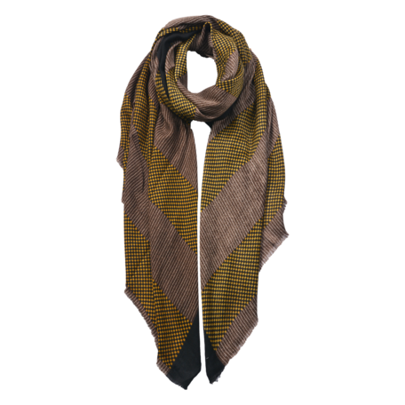 Sjaal 85*180 cm Groen | JZSC0600GR | Clayre & Eef