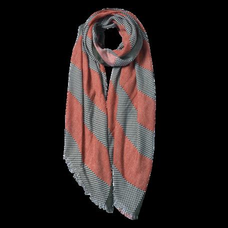 Sjaal 85*180 cm Oranje | JZSC0600O | Clayre & Eef