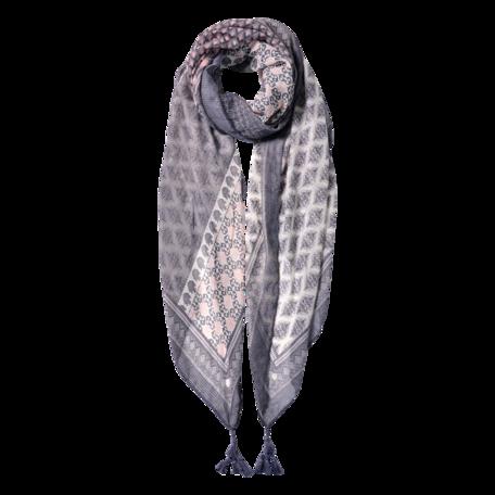 Sjaal 85*180 cm Grijs | JZSC0601G | Clayre & Eef