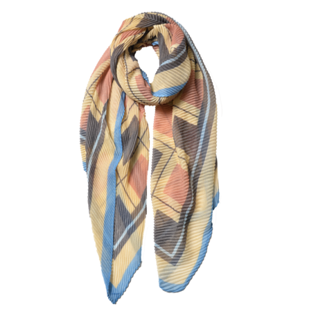 Sjaal 85*180 cm Beige | JZSC0602P | Clayre & Eef