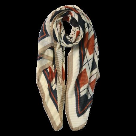 Sjaal 85*180 cm Rood | JZSC0602R | Clayre & Eef
