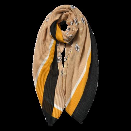 Sjaal 85*180 cm Beige | JZSC0604BE | Clayre & Eef