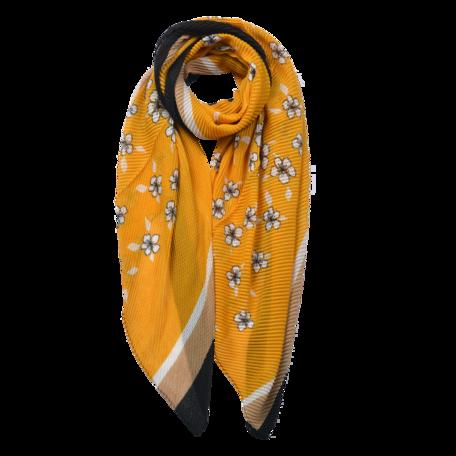 Sjaal 85*180 cm Geel | JZSC0604Y | Clayre & Eef