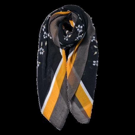 Sjaal 85*180 cm Zwart | JZSC0604Z | Clayre & Eef