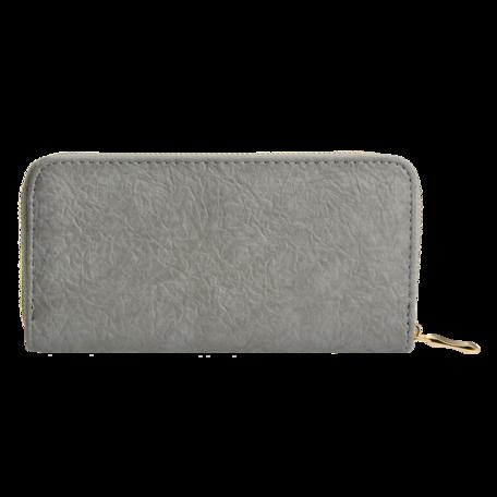 Portemonnee 10*19 cm Zilverkleurig | JZWA0087 | Clayre & Eef