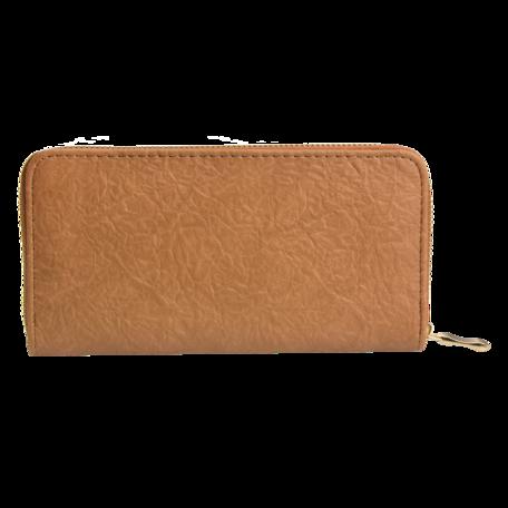 Portemonnee 10*19 cm Bruin | JZWA0088 | Clayre & Eef