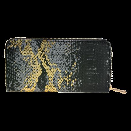 Portemonnee 10*19 cm Zwart | JZWA0091 | Clayre & Eef