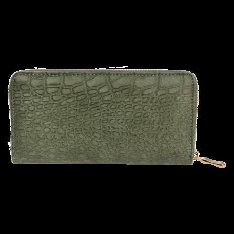 Portemonnee 19*10 cm Groen | JZWA0112 | Clayre & Eef