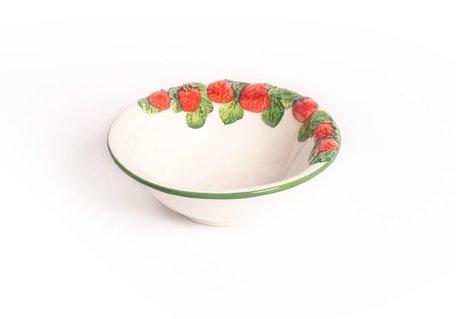 Schaaltje aardbeien Ø 18 cm | FR607 | Piccobella