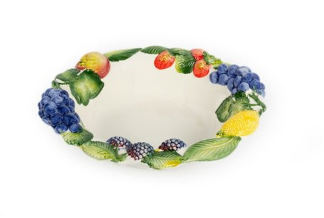 Ronde diepe schaal Fruit Ø 32 cm | FR003 | Piccobella