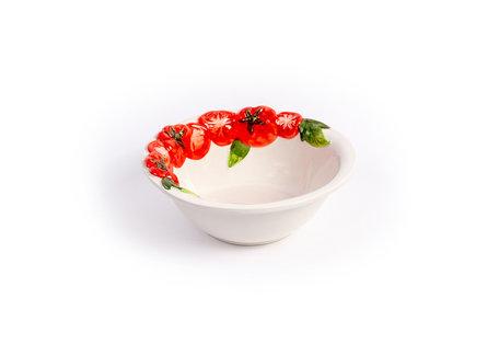 Ronde diep schaal / kom tomaat klein Ø 18 cm | P030 | Piccobella