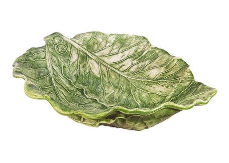 Koolschaal bladvorm groot 30 x 34 cm | Serveerschaal | B015 | Piccobella