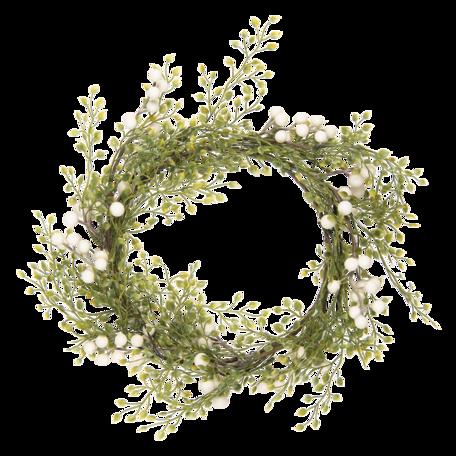 Decoratie krans ø 40 cm Groen | 64824 | Clayre & Eef