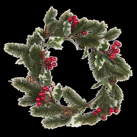 Decoratie krans ø 33 cm Multi | 64829 | Clayre & Eef