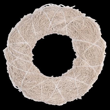 Decoratie krans ø 30*4 cm Wit | 64836 | Clayre & Eef