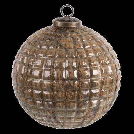 Kerstbal ø 20 cm Roze | 6GL3194 | Clayre & Eef