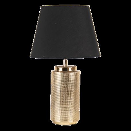 Tafellamp ø 30*51 cm E27/max 1*60W Goudkleurig   6LMC0053   Clayre & Eef