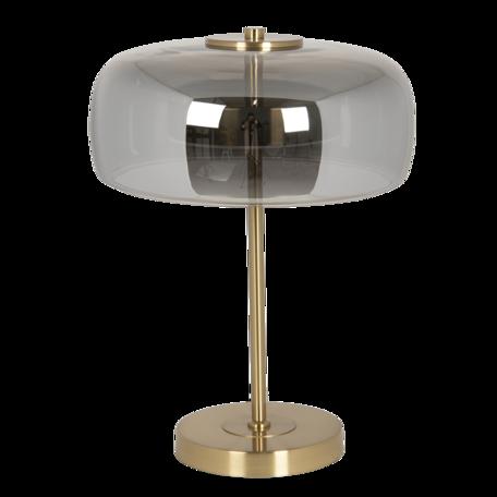 Tafellamp met lamp ø 33*33 cm LED Grijs   6LMP703G   Clayre & Eef