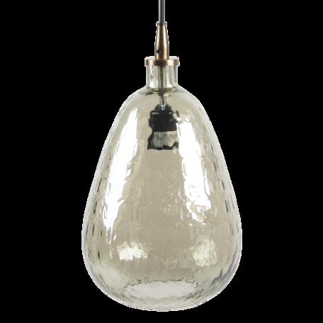 Hanglamp ø 19*35 cm E27/max 1*40W Grijs   6LMP722   Clayre & Eef