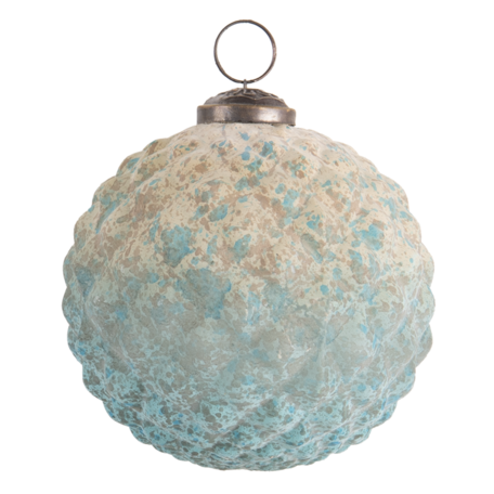 Kerstbal ø 10 cm Bruin   6GL3190   Clayre & Eef