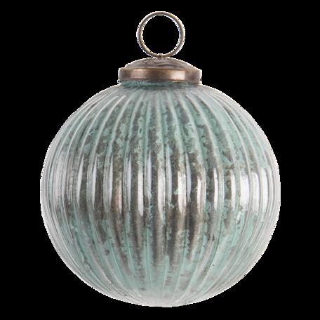 Kerstbal ø 10 cm Groen   6GL3192   Clayre & Eef