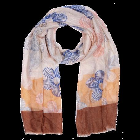 Sjaal 85*180 cm Bruin | JZSC0412 | Clayre & Eef