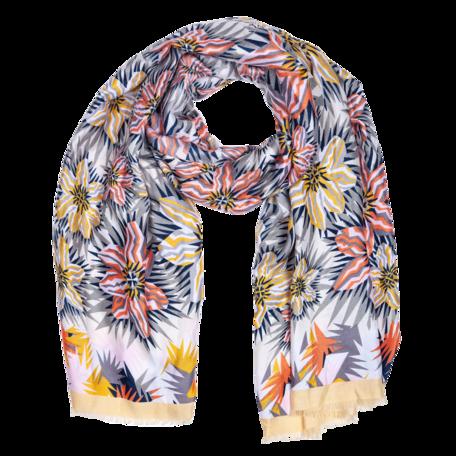 Sjaal 88*180 cm Geel | JZSC0419Y | Clayre & Eef