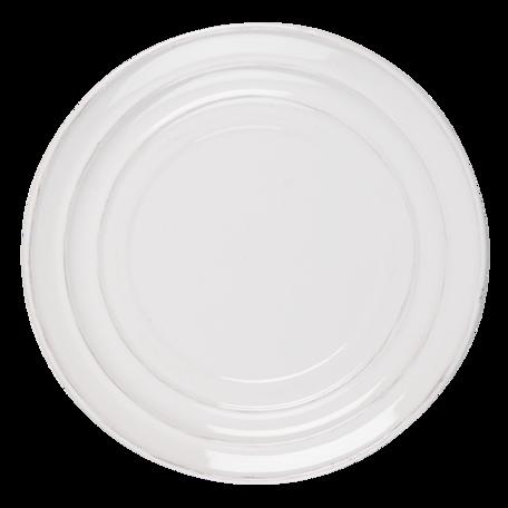 Klein bord ø 22*2 cm Creme   RIDP   Clayre & Eef