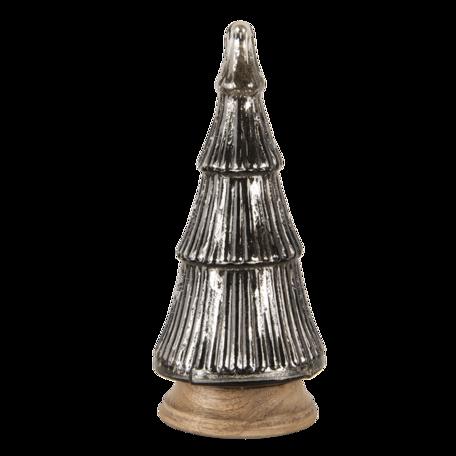 Decoratie kerstboom ø 16*32 cm Bruin | 6GL3147 | Clayre & Eef