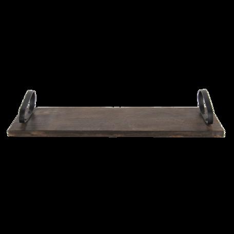 Dienblad 45*15*7 cm Bruin | 6H2035 | Clayre & Eef