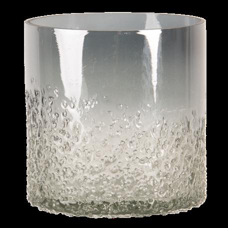 Waxinelichthouder ø 10*10 cm Grijs | 6GL3172 | Clayre & Eef