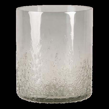 Waxinelichthouder ø 10*13 cm Grijs | 6GL3173 | Clayre & Eef