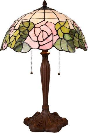 Tafellamp Tiffany ø 40*61 cm Multi | 5LL-5912 | Clayre & Eef